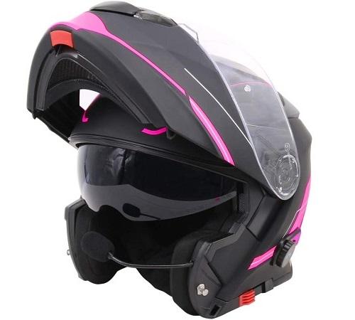 casco moto bluetooth amazon